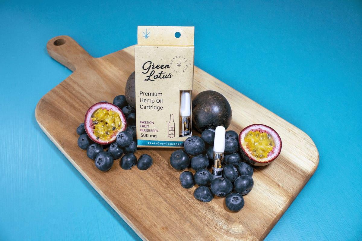 Passion fruit Blueberry Vape Cart