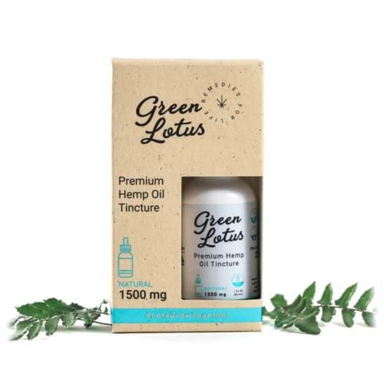 Green Lotus Hemp Tincture Nature 1500mg CBD
