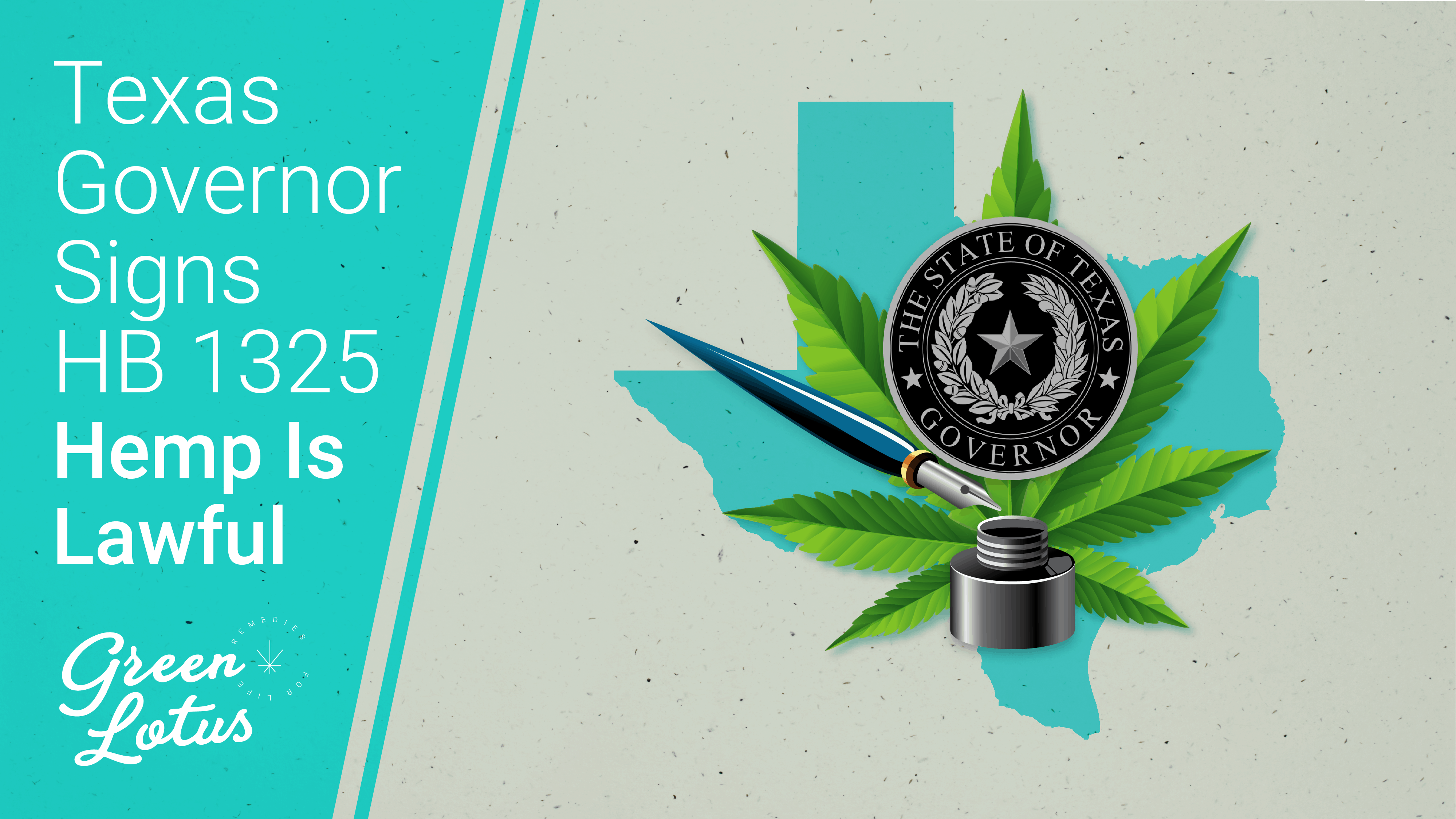Texas' HB 1325 Signed, Legalizes CBD Products