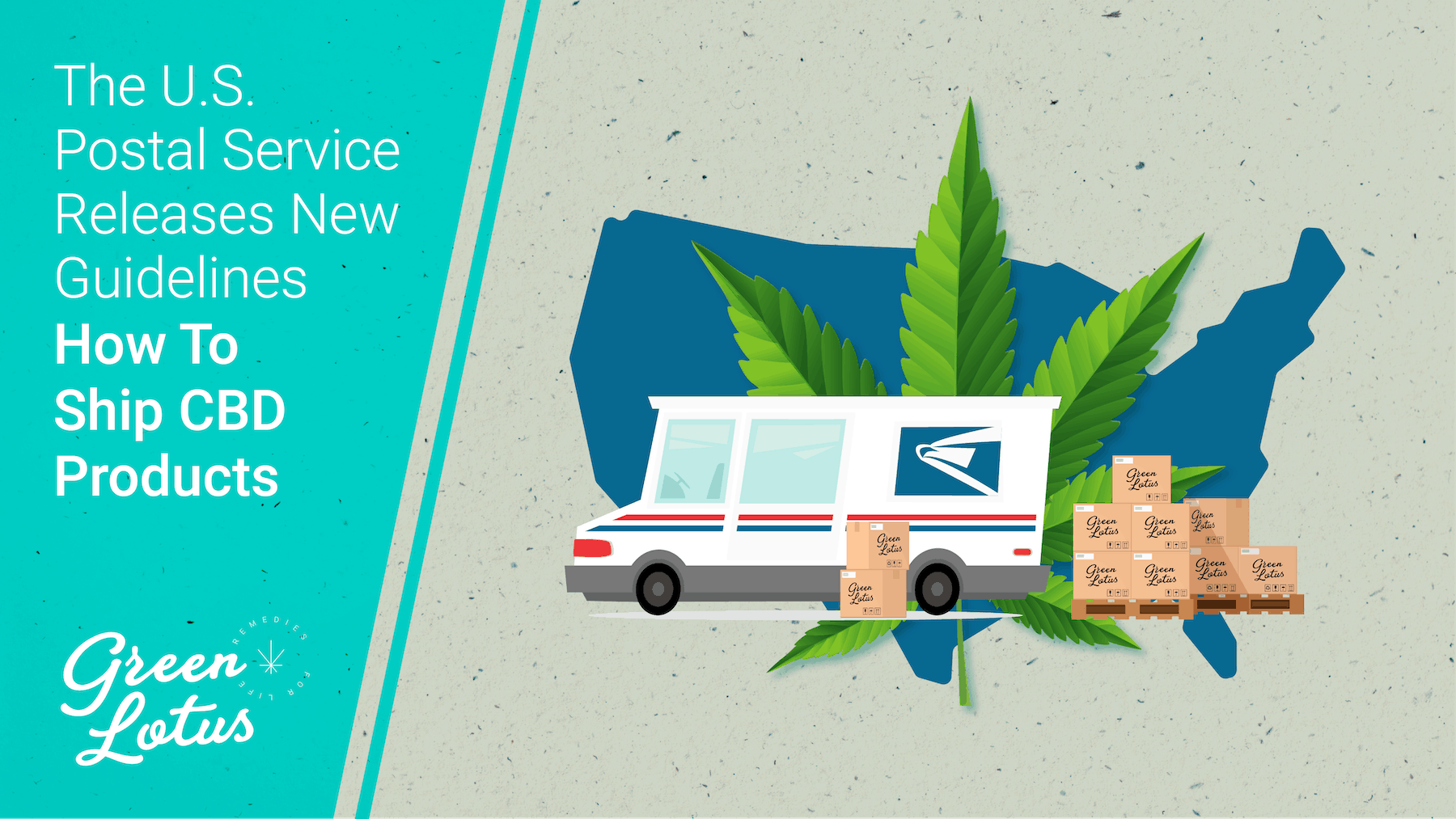 U.S. Postal Service Releases New Guidelines for Shipping CBD Oil