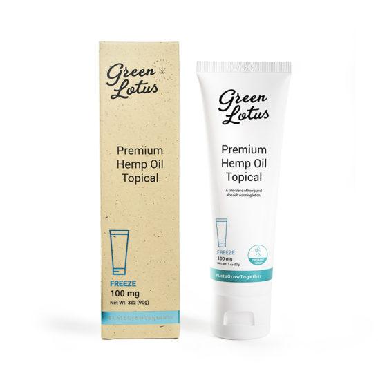 Freeze CBD Cream - Topical Lotion