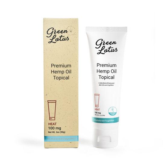 Green Lotus Heat CBD Cream