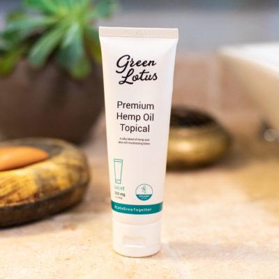 CBD cream topical lotion salve
