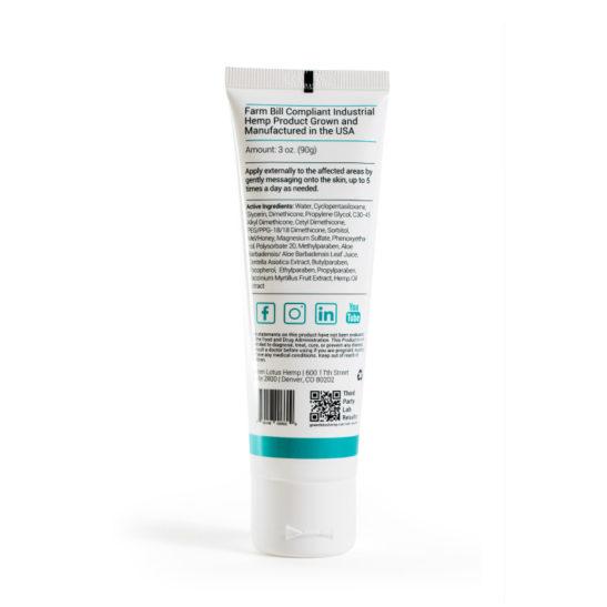 cbd cream topical salve paraban free