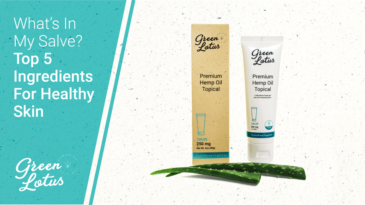 Green Lotus Hemp Blog Salve CBD Skincare