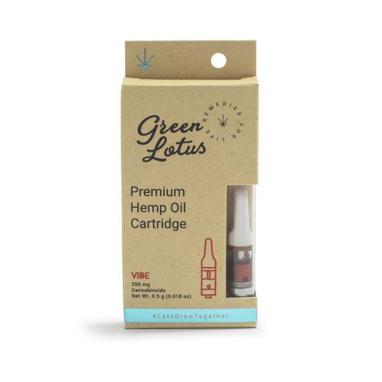 cbd oil vape cartridge - green lotus vibe