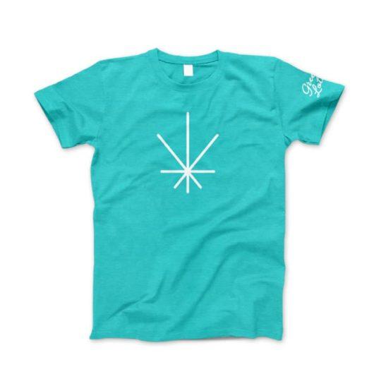 Green Lotus Hemp Icon T-Shirt